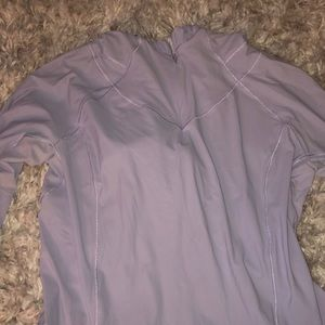 Light purple lululemon sweatshirt